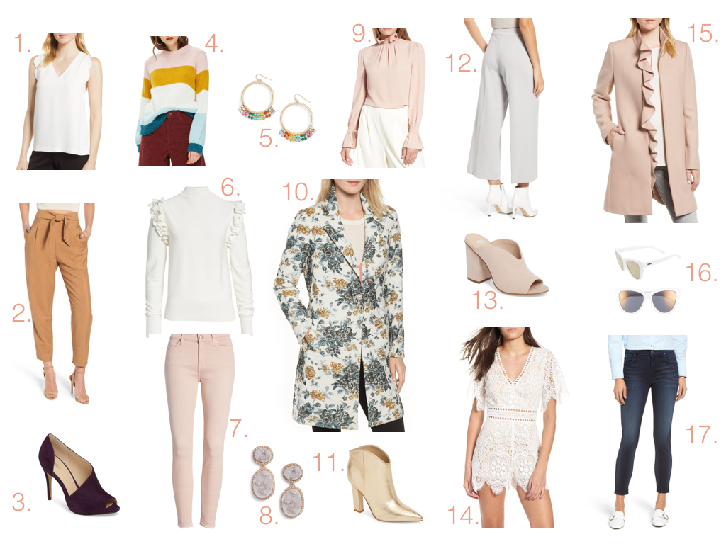 2018 Nordstrom Anniversary Sale- fall favorites
