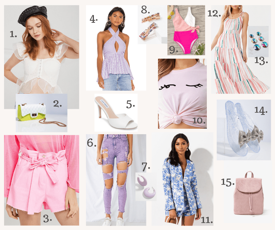 Lifestyle blogger Kelsey Kaplan of Kelsey Kaplan fashion discusses her summer favorites