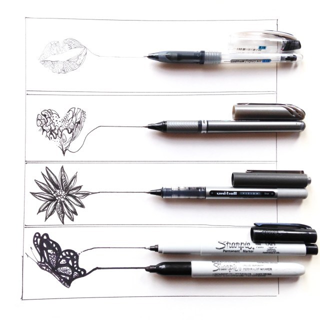 types of pens km