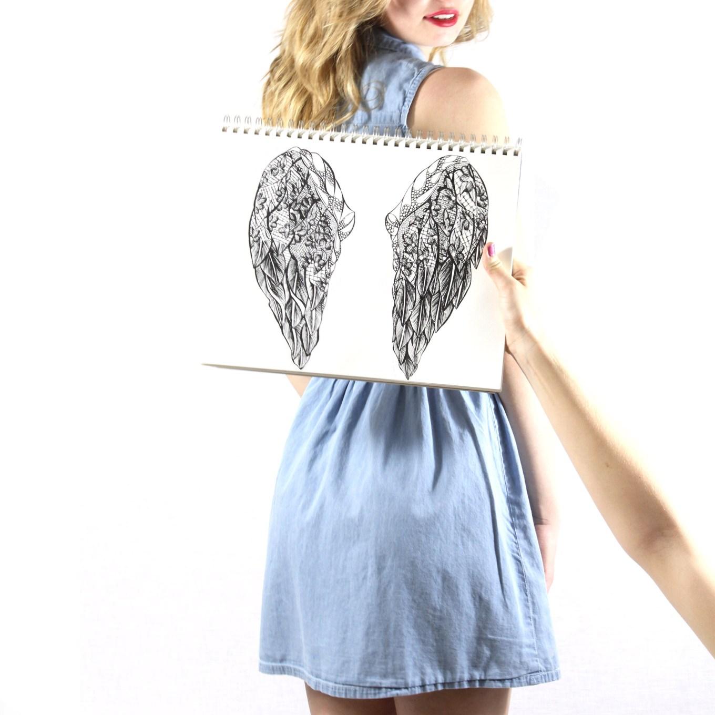 Angel Wings by Kelsey Montague