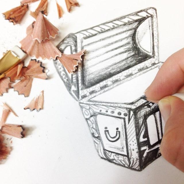 Blackwing Pencil 4 by Kelsey Montague Art.jpg