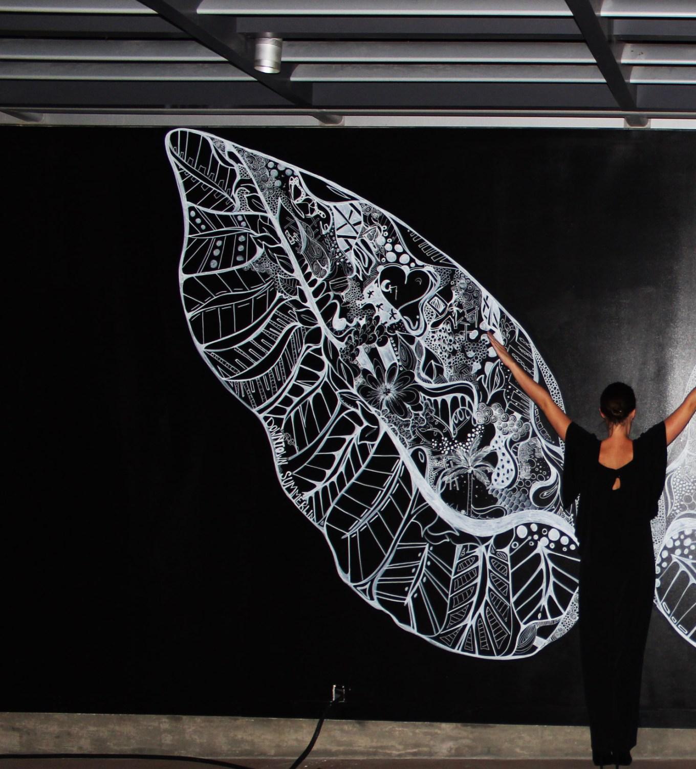 Kelsey Montague Art wings Kels
