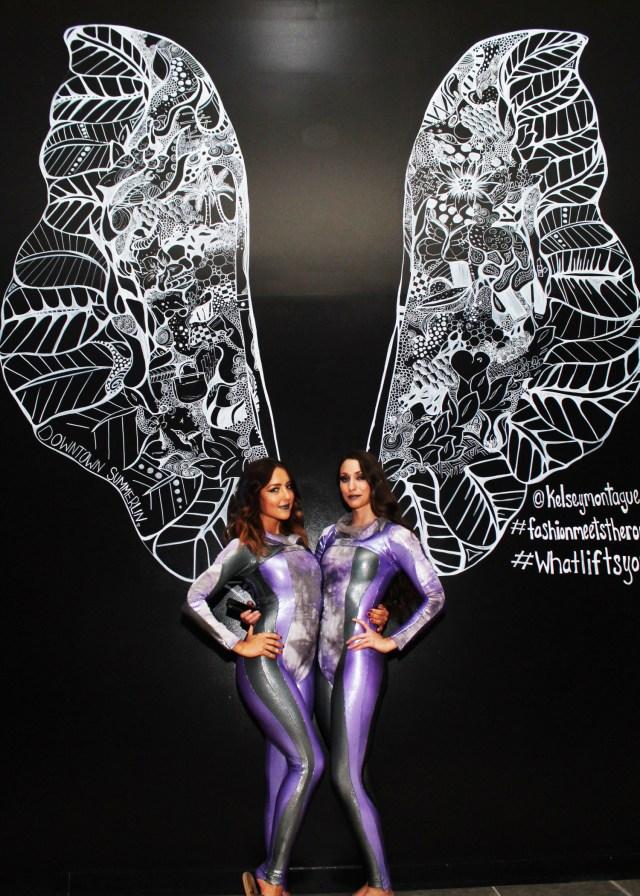 Kelsey Montague Art wings aeralists