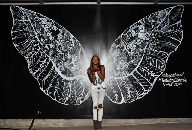 Kelsey Montague Art wings kiss