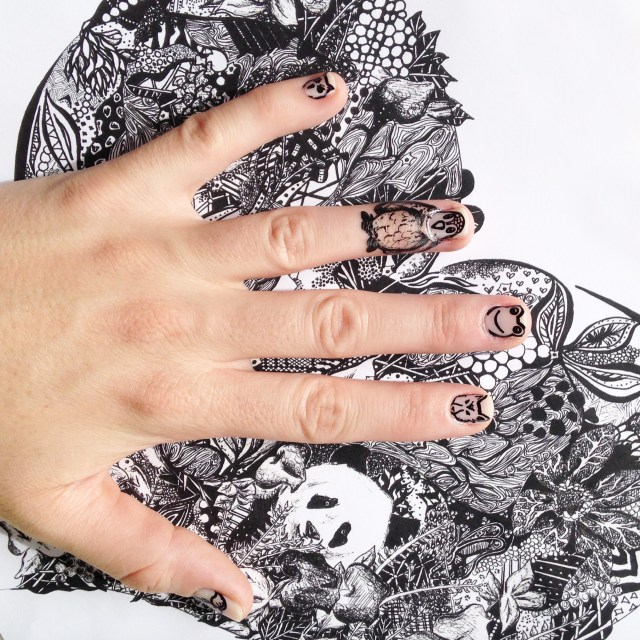 Kelsey Montague Art for Scratch Nails 10
