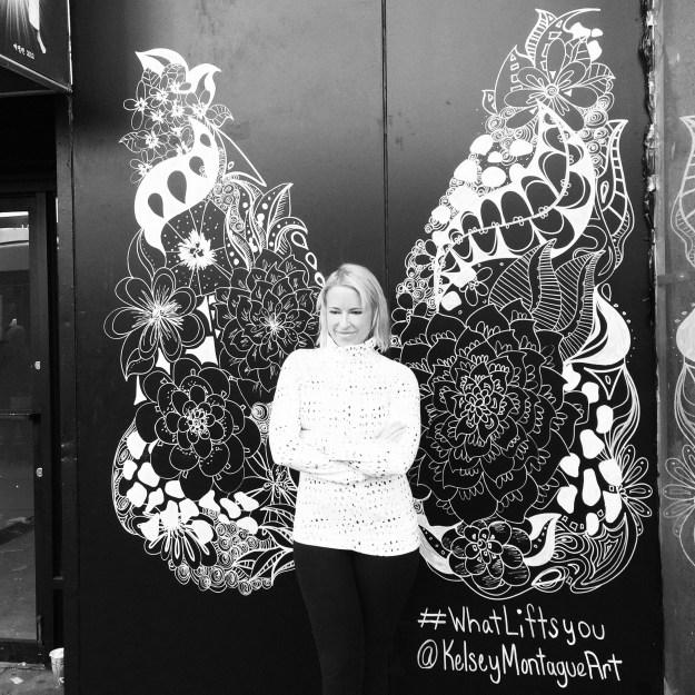 Kelsey Montague Art Floral Wings