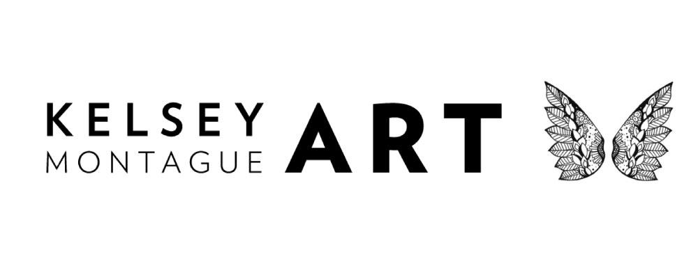 Kelsey Montague Art logo