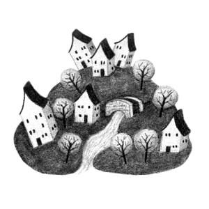 Spot Illustration Close Up - The Lirbray
