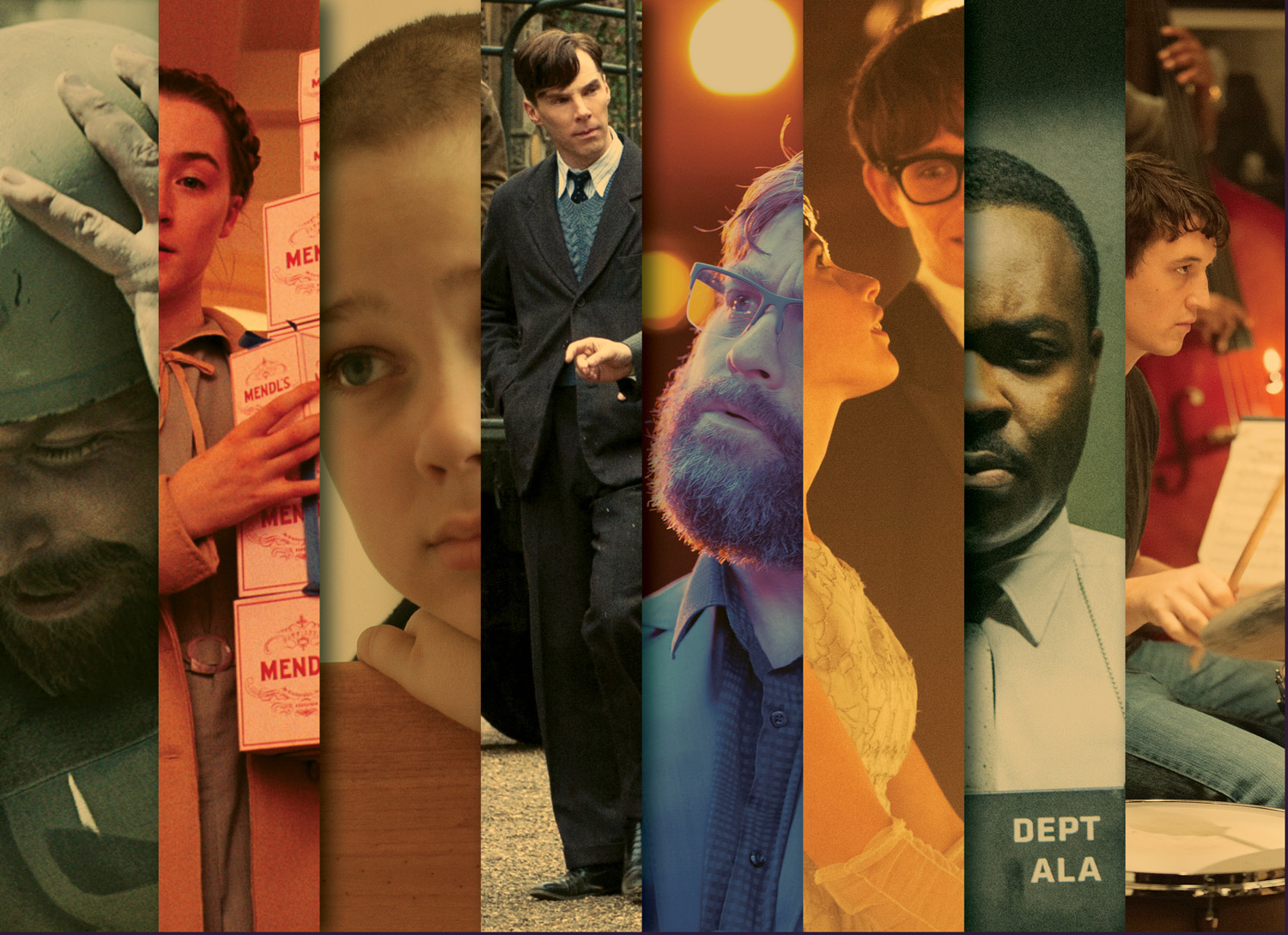 2015 Best Picture Contenders / The Hollywood Reporter / February 2015 / kelsey stefanson / art direction + graphic design / yeskelsey.com