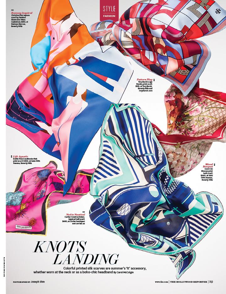 Knot's Landing / The Hollywood Reporter / 6.24.16 / kelsey stefanson / art direction + graphic design / yeskelsey.com