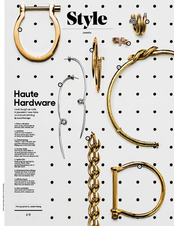 Haute Hardware / The Hollywood Reporter / 10.21.16 / kelsey stefanson / art direction + graphic design / yeskelsey.com