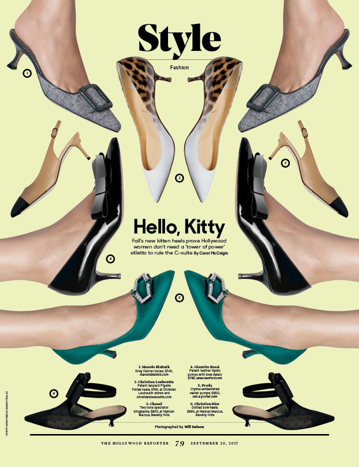 Hello, Kitty / The Hollywood Reporter / 9.20.17 / kelsey stefanson / art direction + graphic design / yeskelsey.com