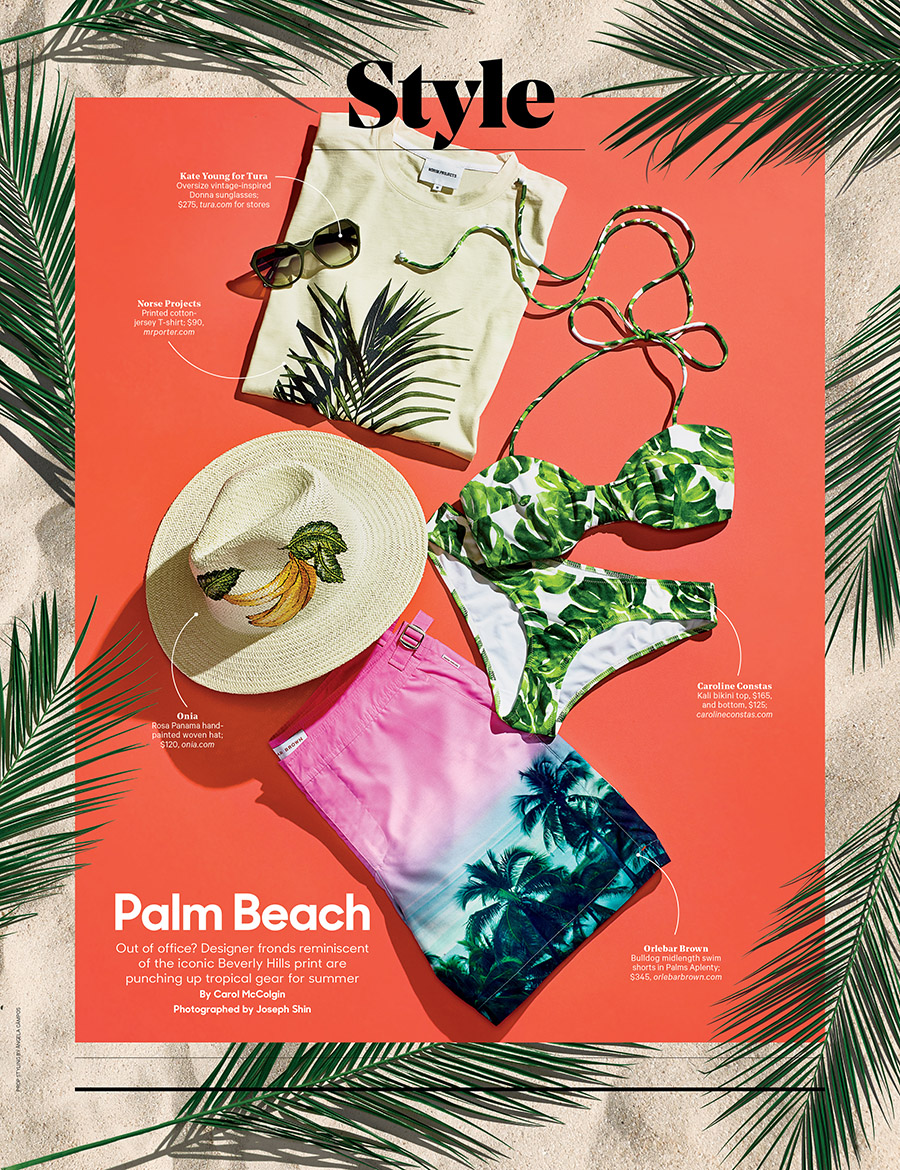 Palm Beach / The Hollywood Reporter / 6.20.18 / kelsey stefanson / art direction + graphic design / yeskelsey.com