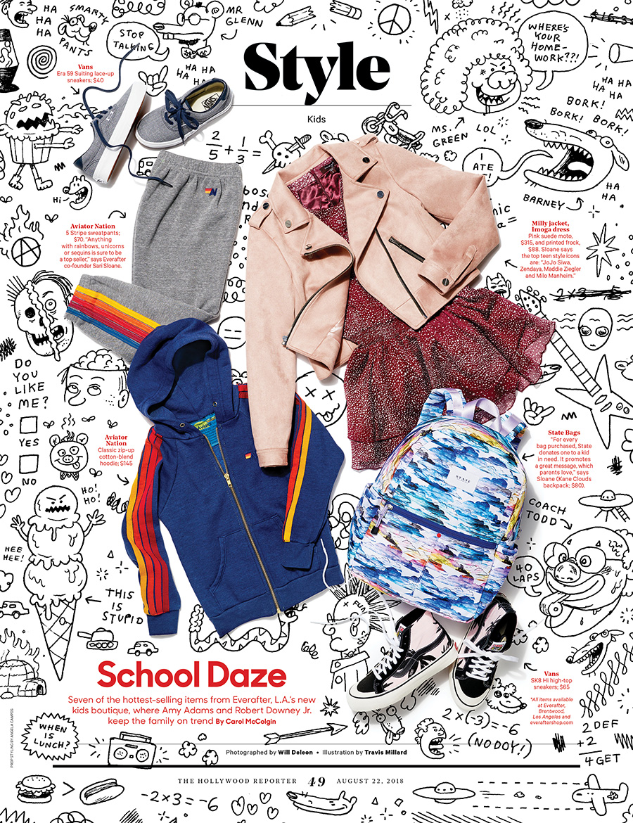 School Daze / The Hollywood Reporter / 8.22.18 / kelsey stefanson / art direction + graphic design / yeskelsey.com