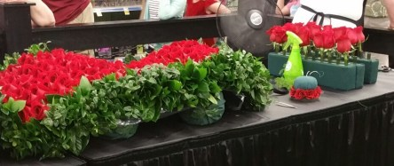 Kentucky derby rose garland_1462839432699