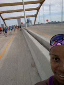 Crossing Hoan Bridge