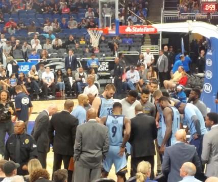 Memphis Grizzlies Bench