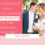 Why should your photographer contribute to the wedding timeline?