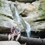 Hocking Hills Engagement Session   Courtney + Spencer