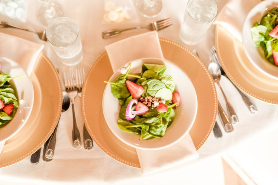 Wedding catering by Jorgensen Farms