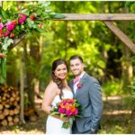 A Colorful Pink & Coral Wedding in Ravenna, Ohio