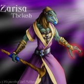 Zarisa, Iksar Monk