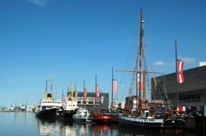 Salah satu pemandangan khas di Bremerhaven
