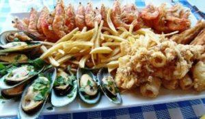 Seafood di Siprus
