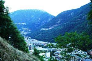 Pegunungan Pyrenees Andorra