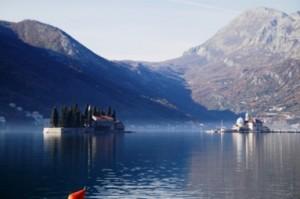 Teluk Kotor di Montenegro