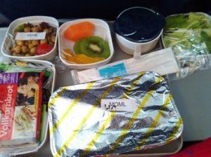 Makanan pesawat China