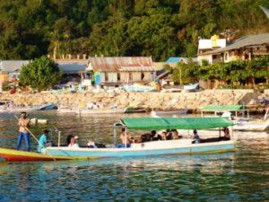 Perahu Pulau Komodo