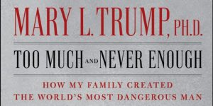 I read Mary Trump's book so you wouldn't have to. You're welcome.