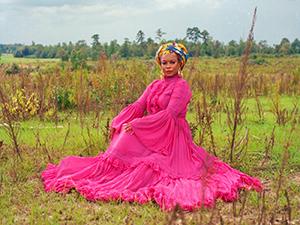 Aunjanue Ellis by Imani Khayaam