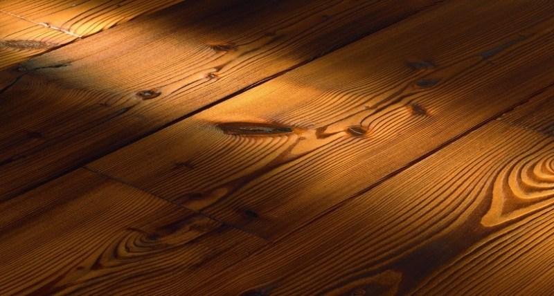 Деревянный пол на бетонном основании