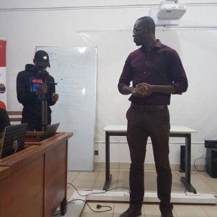Président de Internet society Chapitre du Bénin