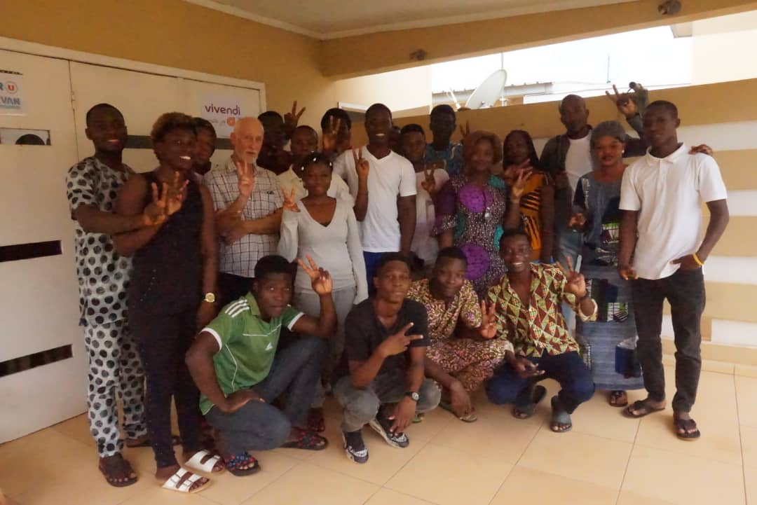 Du dessin animé à Ouidah