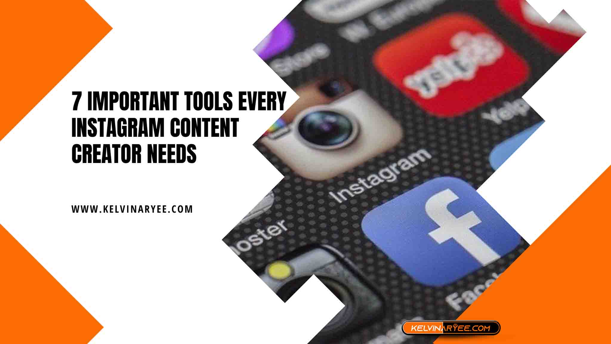 You are currently viewing 7 Important Tools Every Instagram Content Creator Needs
