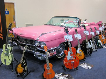 Gretsch and a Pink Cadillac