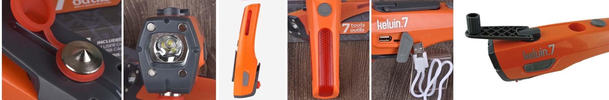 Kelvin Safety Tool функциональный инструмент 7 в 1