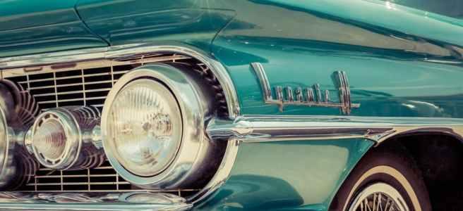 lights car vintage tire