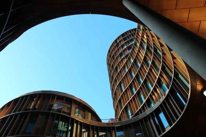 architectural design architecture blue build