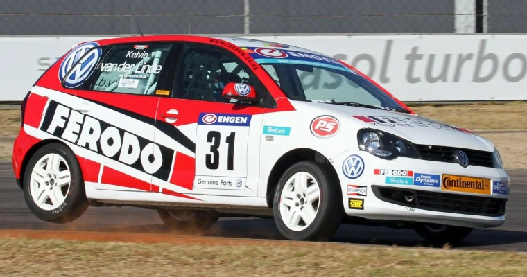 Ferodo Racing's Kelvin Van der Linde in form at Zwartkops Raceway