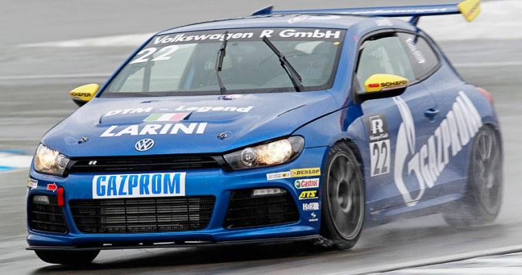 Qualifying in Hockenheim: Larini scores pole position.