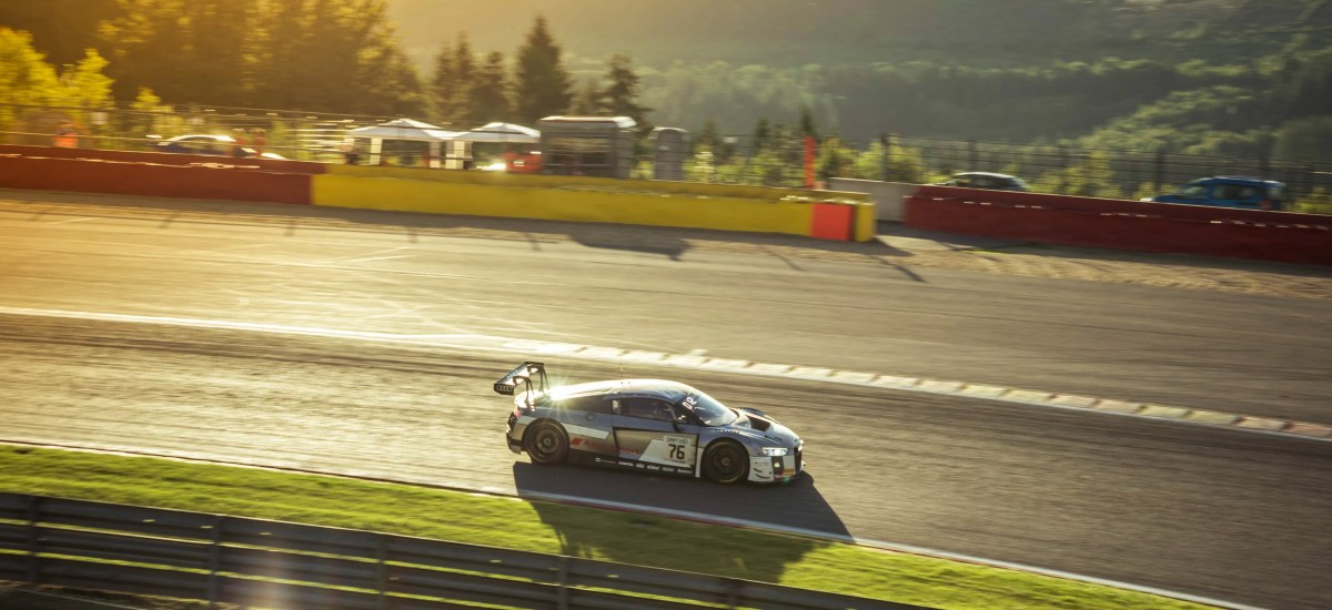 Top 10 for Kelvin and Audi Sport Team I.S.R at 24 Hours of Spa
