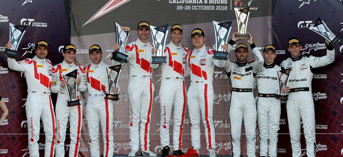 Win in Laguna Seca and third manufacturers' title for Audi