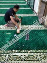 Jual Karpet Sajadah Masjid Turki Roll Berkualitas Tebal Di Kranji
