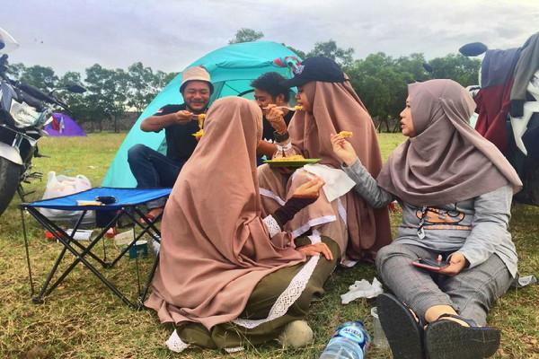 Camping Cantik Parang Gombong