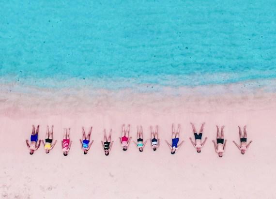 Open Trip Komodo - Drone - Pink Beach