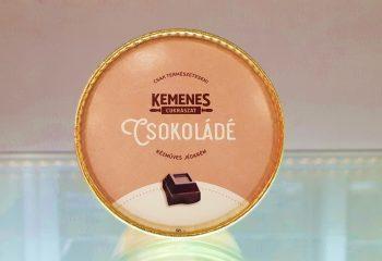 Kemenes Kézműves csokoládé ízű jégkrém
